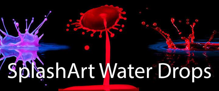 Splash Art Water Drop Photography Workshop