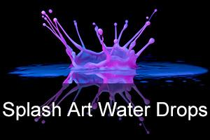 """Splash Art"" Water Drop Photography Workshop"